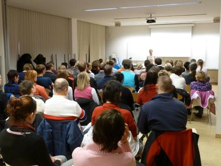 Přednáška o sportu a meditaci