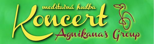 Pozvánka na koncert skupiny Agnikana's Group 12.12. od 19 hod.