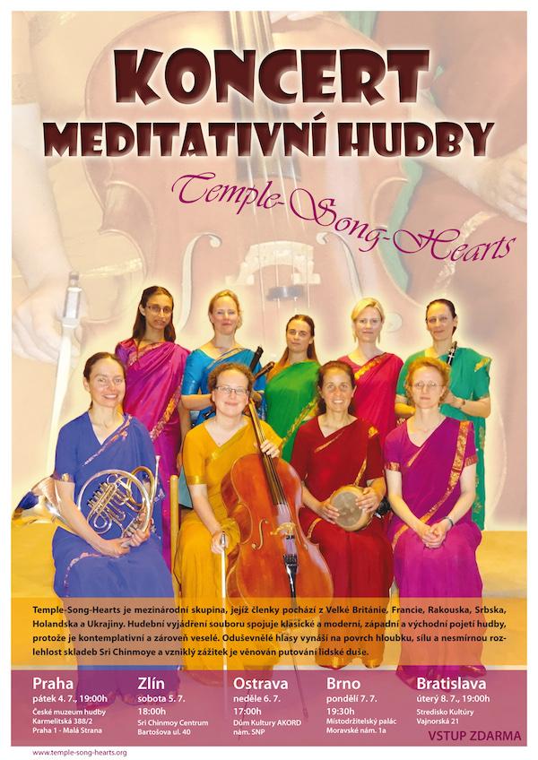 Koncert meditativní hudby